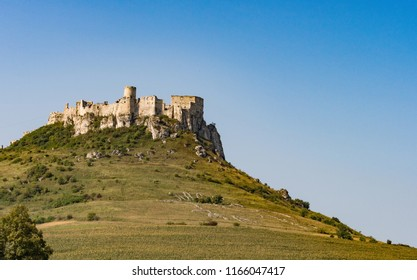 Spissky hrad. The Spis Castle, National Cultural Monument (UNESCO. Spis Castle. One of the largest castle in Central Europe (Slovakia).