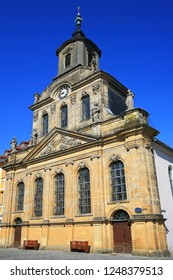Spitalkirche in Bayreuth is a city in Bavaria, Germany, with many historical attractions