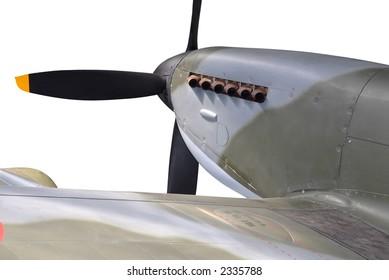 Spitfire quarter detail