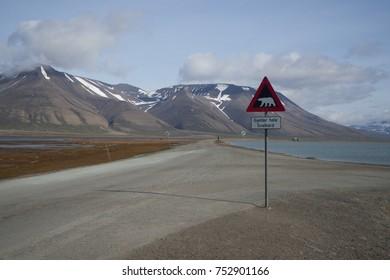 Spitsbergen nature landscape
