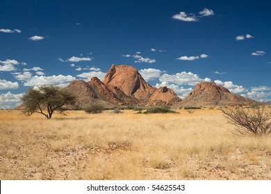 Spitzkoppe Mountain, Namibia