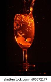 Splash in a Drink Glass
