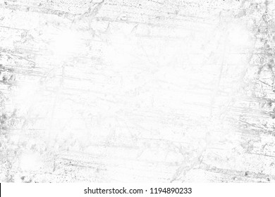 Splattered and aged white background with semi transparent copyspace