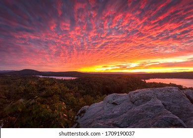 Splay Of Vibrance from a Mountaintop View in Vermont
