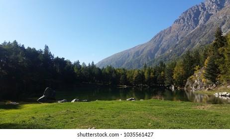 splendid mountain landscape
