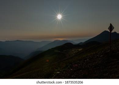 splendor in the mountains of Sochi Rosa Khutor