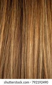 split ends treated hair