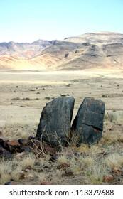Split Rock, Namib-Naukluft National Park, Namibia