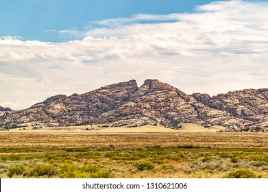 Split Rock, with its unforgettable gunsight notch, was visible to emigrants for two days or more on the Oregon Trail