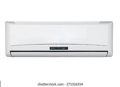 Split system air conditioning unit