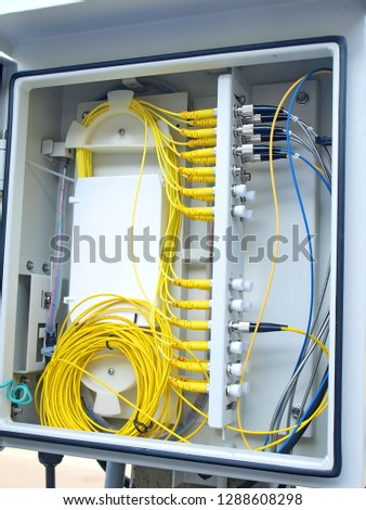 Brilliant Splitter Fiber Optic Box Fiber Optic Stock Photo Edit Now Wiring Digital Resources Bemuashebarightsorg