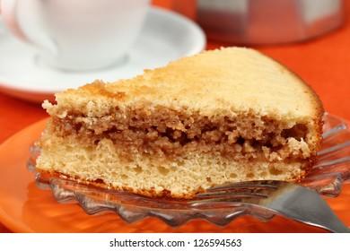 Sponge Cake with sweetened condensed milk