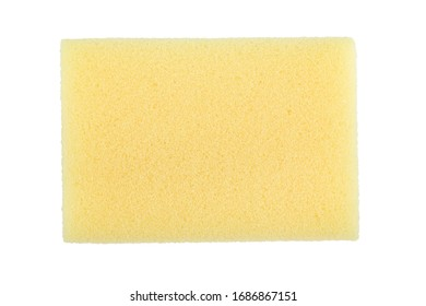 Sponge isolated on white background. File contains clipping path.