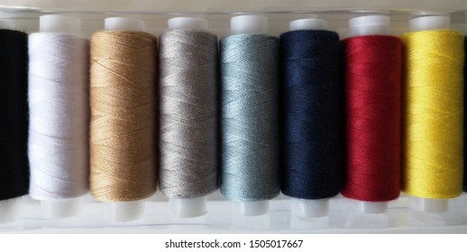 Antique Burgundy Thread Spool Bobbin~Textile Industrial Factory~10 Spools