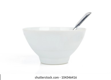 Spoon and bowl