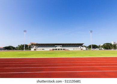 Sport arena and sky