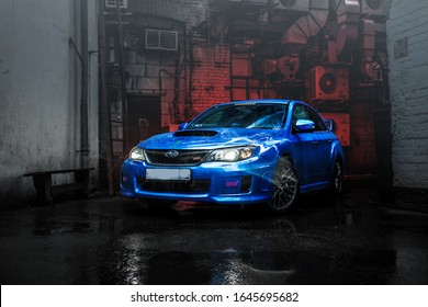 Sport Car Subaru WRX STI