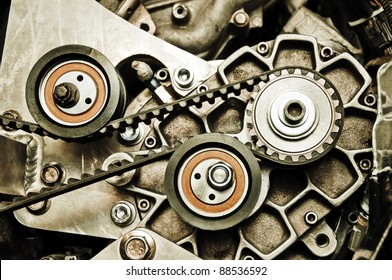 Sport car's engine