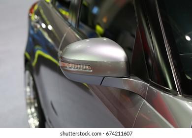 Sport car's exterior design