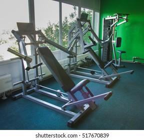 Sport Club. Fitness Trainers.