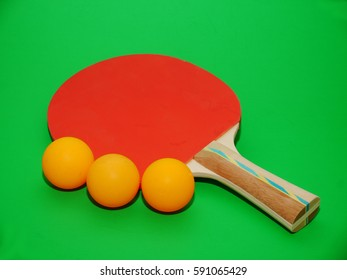 Sport equipment/Table tennis racket and balls/Equipment for table tennis