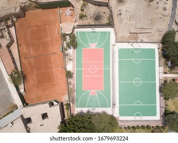 Sport fields for recreation and learning.