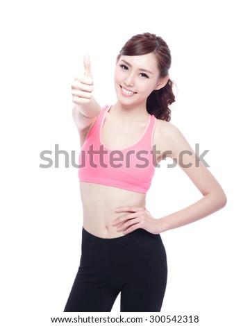 Sport thumb up