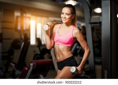 sport gym woman