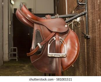 Sport Jumping saddle hanging bracket stall stables