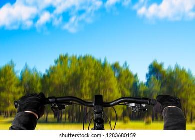 sport and nature, mountain bike