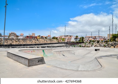 Sport Photo Concept Picture of a Skate Park