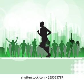 Sport. Runners