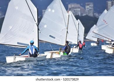 Sport Sailors training