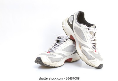 Sport shoes isolated for sport running.