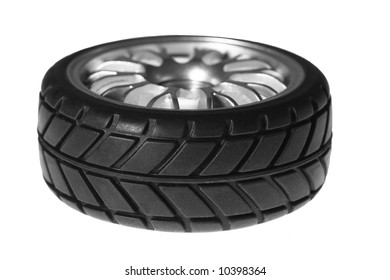 sport tire isolated on the white background