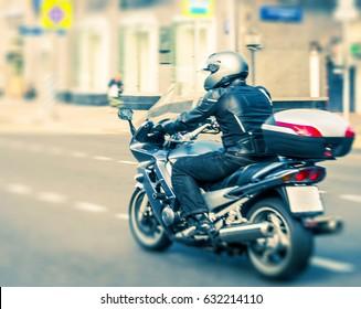 sport-bike with coffer