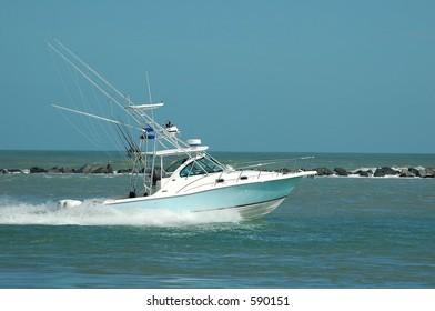 Sportfishing Boat