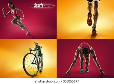 Sports background