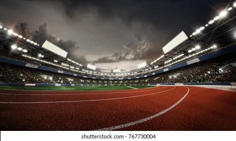 Sports Background. Stadium. Sport Arena