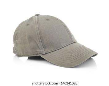 Sports cap on white background