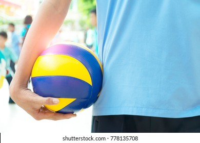 Sports is the development of all our skills.,Leadership, planning, analysis, problem solving, can withstand the pressure of the surrounding,Volleyball players hold the ball with their right hand.