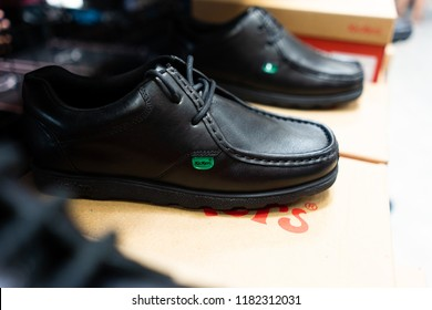 School Shoes Front Images, Stock Photos