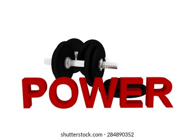 sports dumbbells power  training muscular