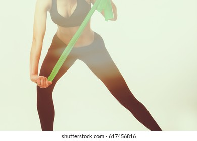 Sports girl. The concept of women's sports