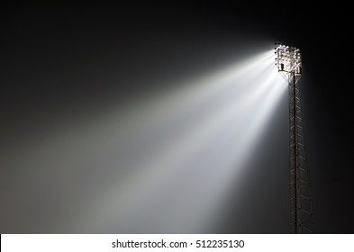 Sports ground floodlights