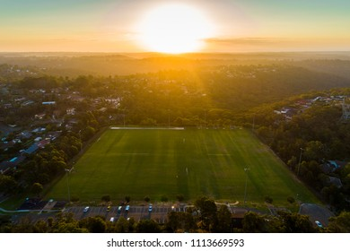 Sports ground playing field in Sydney, Mount Colah