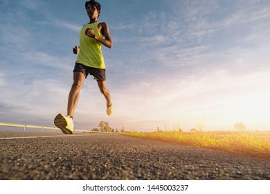 Sports images that represent running