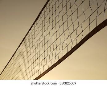 Sports Nets sunset
