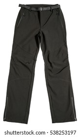 Sports pants on white background