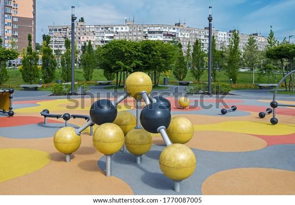 sports-playground-on-territory-multistor